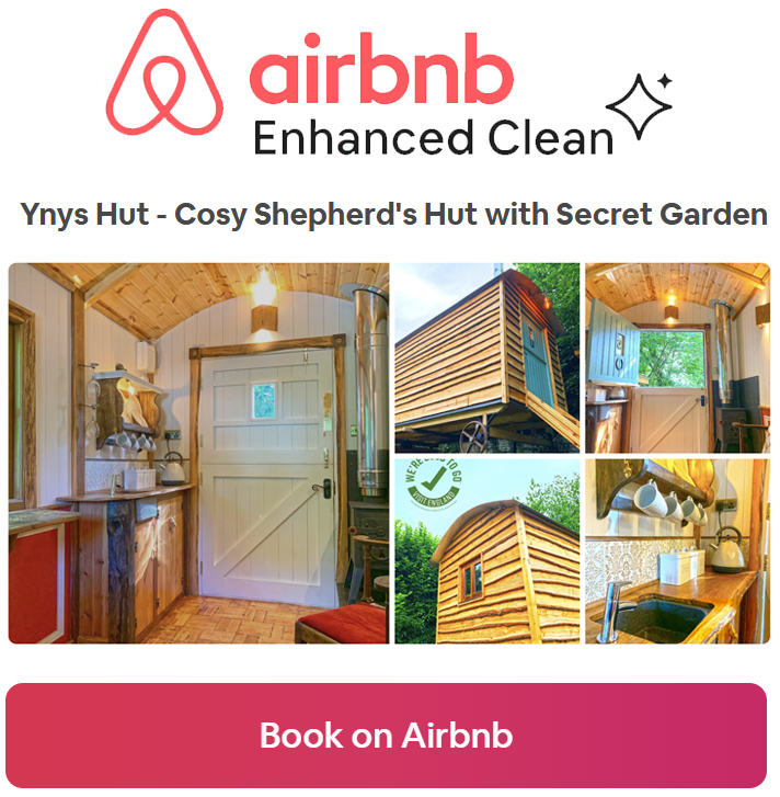 Book Ynys Hut on Airbnb