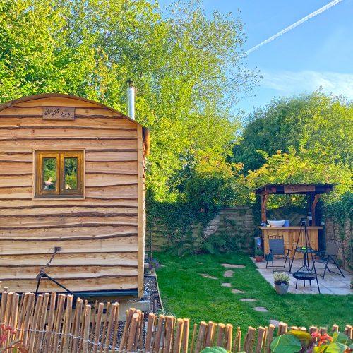 Secret Garden at Ynys Hut