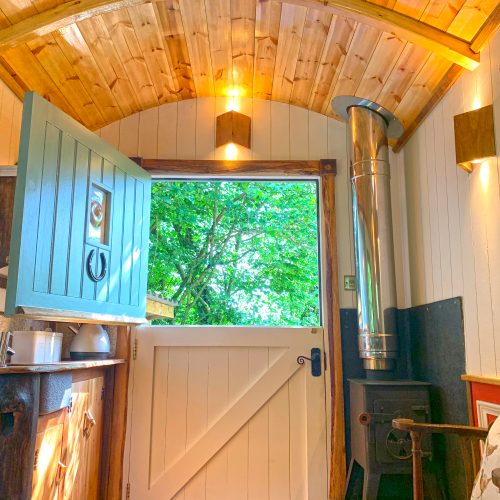 Nothing Beats a Stay at our Shepherds Hut Retreat